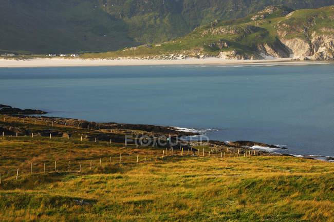 Blick auf Maghera Strand — Stockfoto