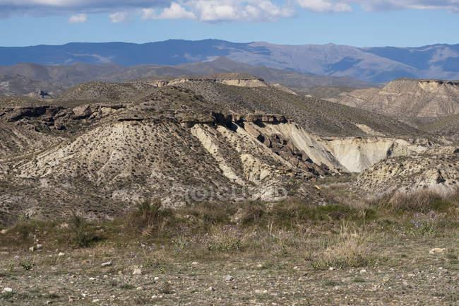 The Tabernas Desert; Almeria — Stock Photo