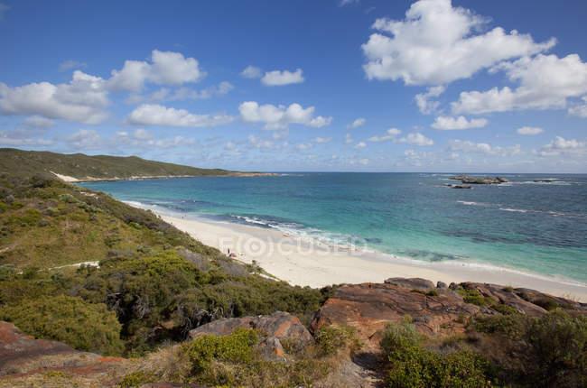 White Sand Beach — Stock Photo