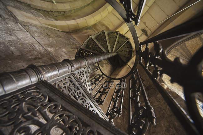 Metal Spiral Staircase — Stock Photo