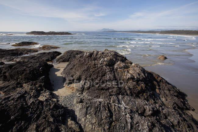 Wickaninnish пляжі в Тихоокеанського обода Національний парк — стокове фото