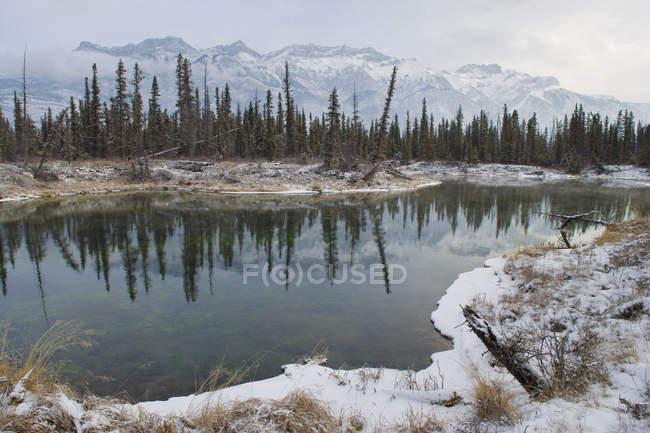 Parque Nacional Jasper - foto de stock