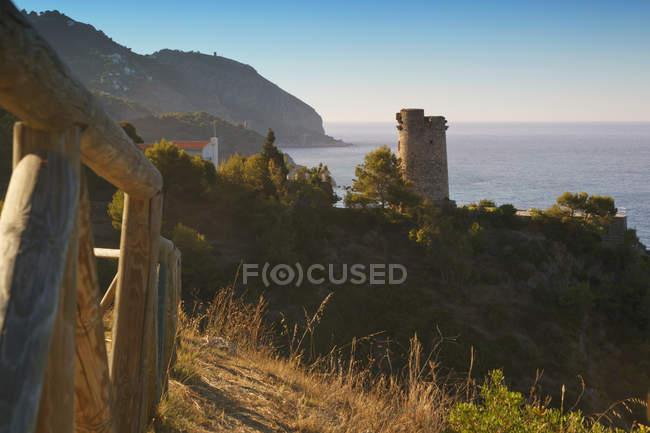 Torre Del Pino Torre de Vigia — Fotografia de Stock