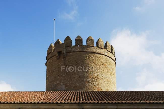 Castelo em Zafra, Espanha — Fotografia de Stock