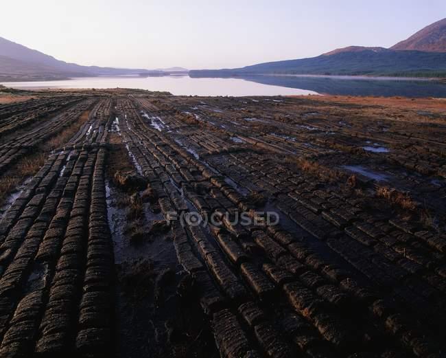 Lough Inagh, Contea di Galway, Irlanda — Foto stock