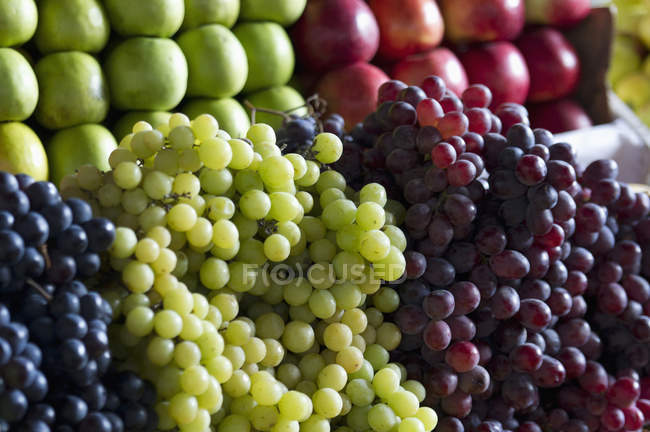 Various Fruits On Display For The Market — Stock Photo