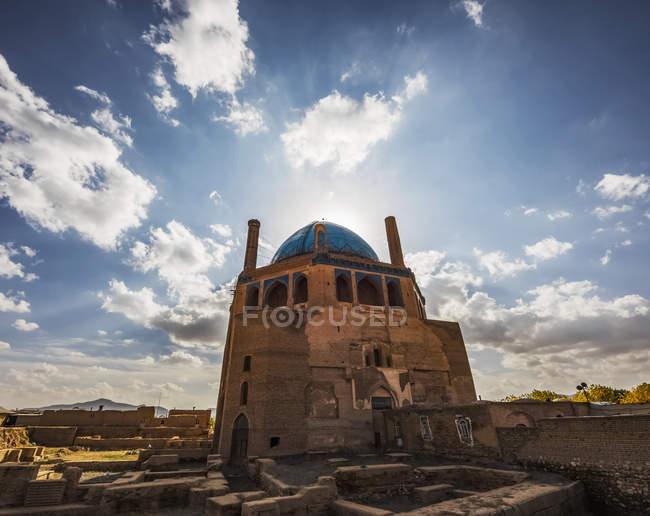 Cúpula de Soltaniyeh no Irã — Fotografia de Stock