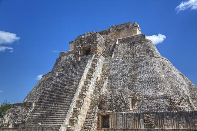 Піраміда чарівника в Мексиці — стокове фото