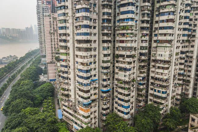 Edifici residenziali per appartamenti — Foto stock
