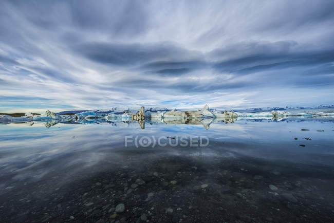 Die Eisberge von Eis Lagune — Stockfoto