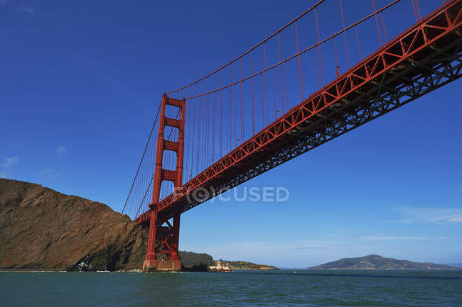 Golden Gate bridge; San Francisco — Stock Photo