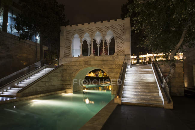 Pequeno parque aquático de Veneza — Fotografia de Stock