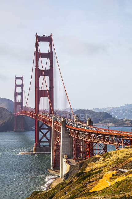 View of the Golden Gate Bridge — Stock Photo