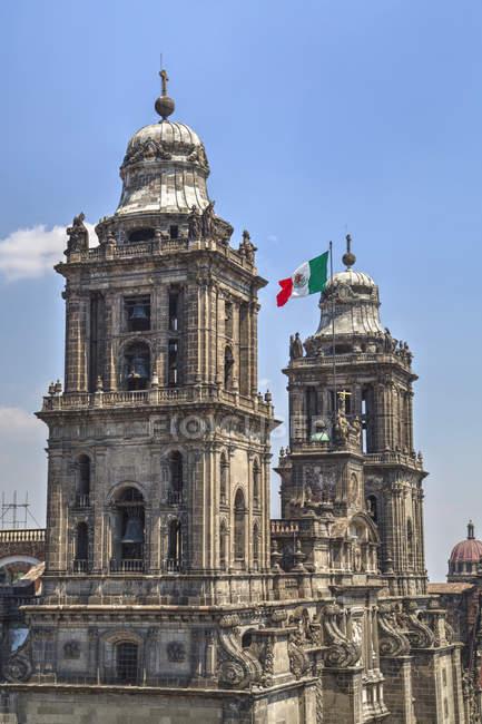 Кафедральний собор у Мексиці — стокове фото