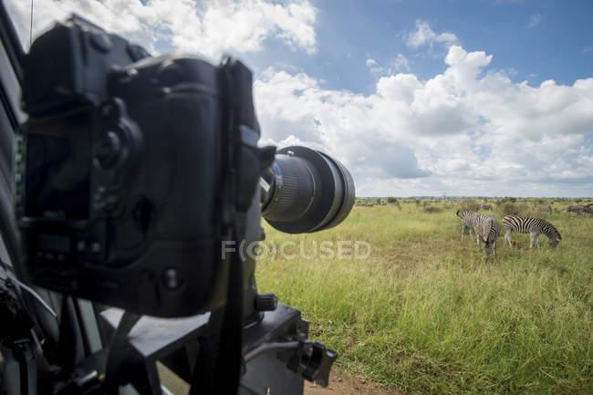 Câmera montada em veículo — Fotografia de Stock