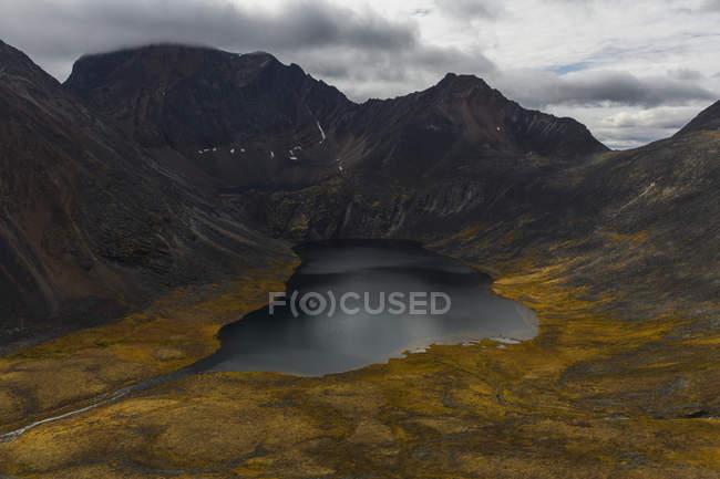 Глибоко всередині надгробок територіальних парк syenite озера — стокове фото