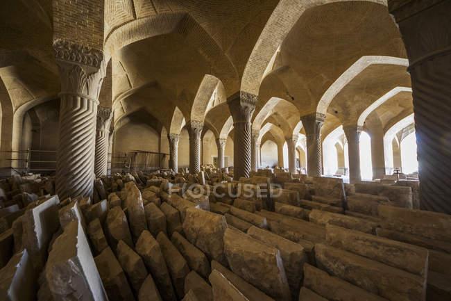 Salão de oração de Vakil Mesquita — Fotografia de Stock
