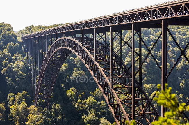 The New River Gorge Bridge — Stock Photo