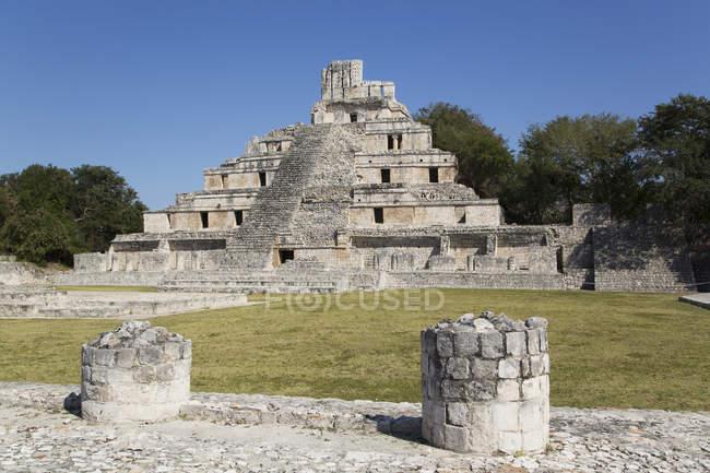 Структура п'ять поверхів — стокове фото