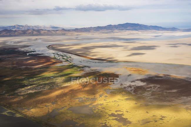 Großer Salzsee — Stockfoto