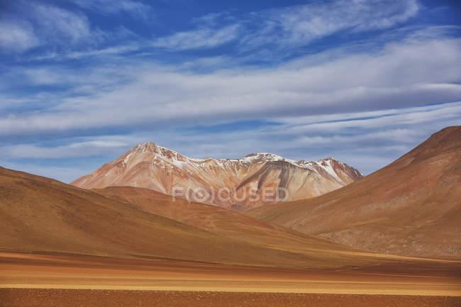Paisaje surrealista de la región altiplánica de Bolivia - foto de stock