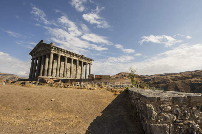 Vestiges du Temple de Garni — Photo de stock