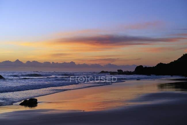 Sunrise at Port Macquarie beach — Stock Photo