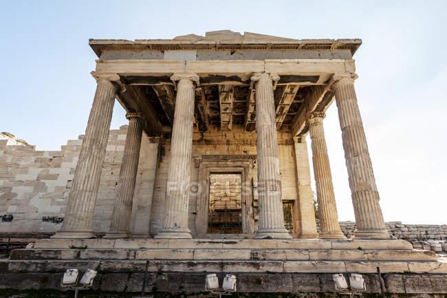 Давньогрецький храм — стокове фото