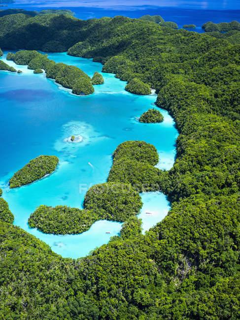 Vue aérienne du Palaos — Photo de stock