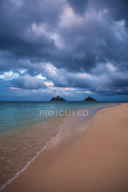 Dusk on windward side — Stock Photo