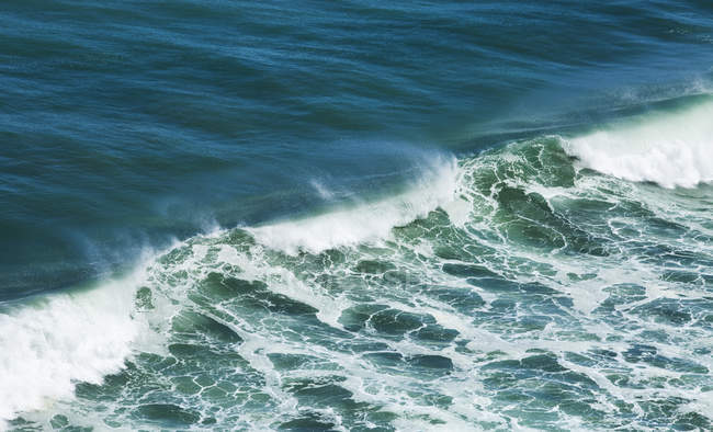 Blue green wave; — Stock Photo
