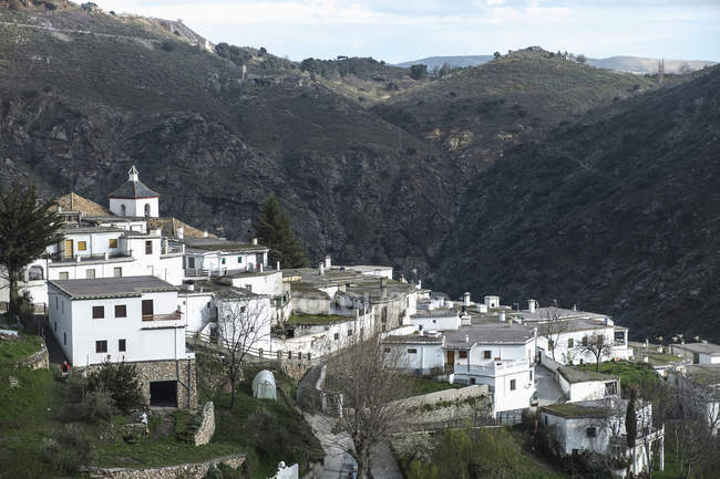 Village of Busquistar at La Alpujarra — Stock Photo