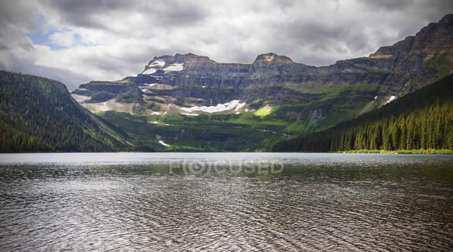Камерон озера, озер Ватертона — стокове фото