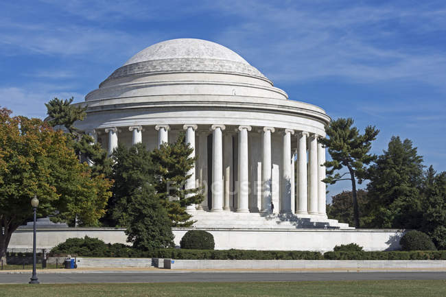 Monumento a Thomas jefferson - foto de stock
