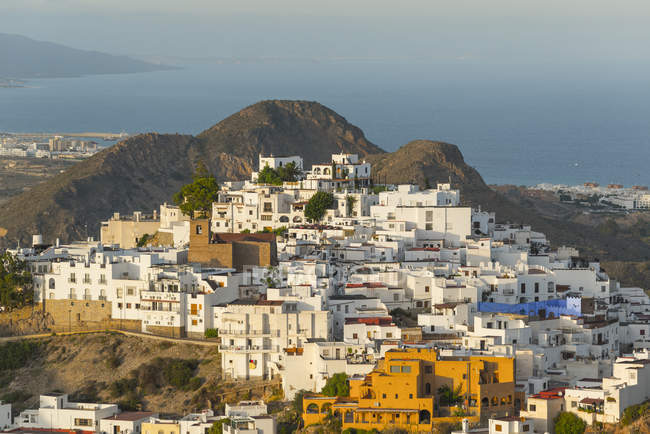 Mojacar, on coast of Almeria — Stock Photo