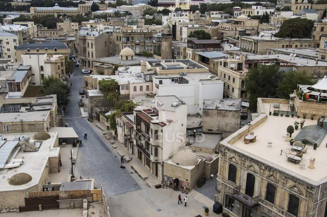 Старе місто з інтер'єр Дівоча вежа — стокове фото