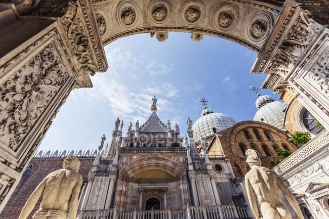 Capela e Basílica de São Marcos — Fotografia de Stock