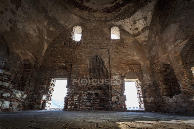 Interior of the mosque at Selcuk Castle — Stock Photo