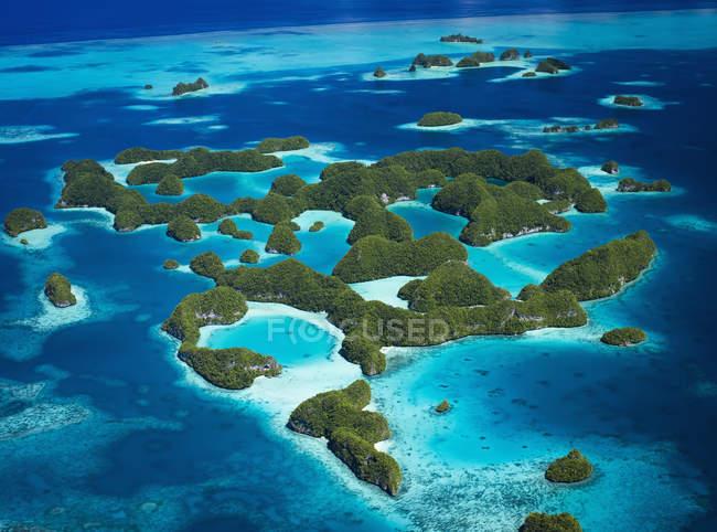 Veduta delle Isole Palau — Foto stock