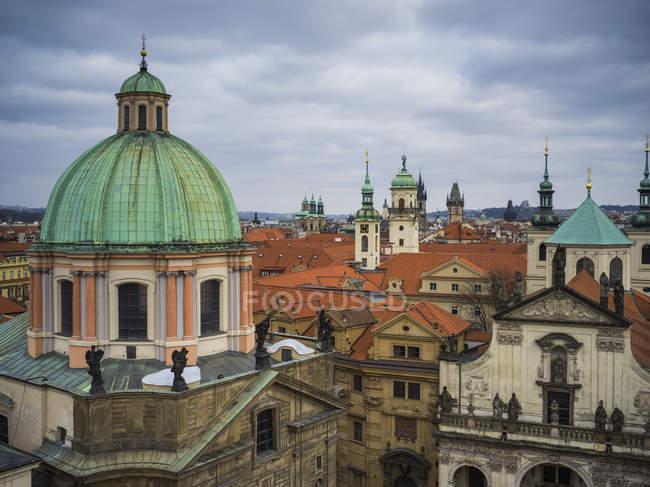 Cityview Прага, Чехія — стокове фото