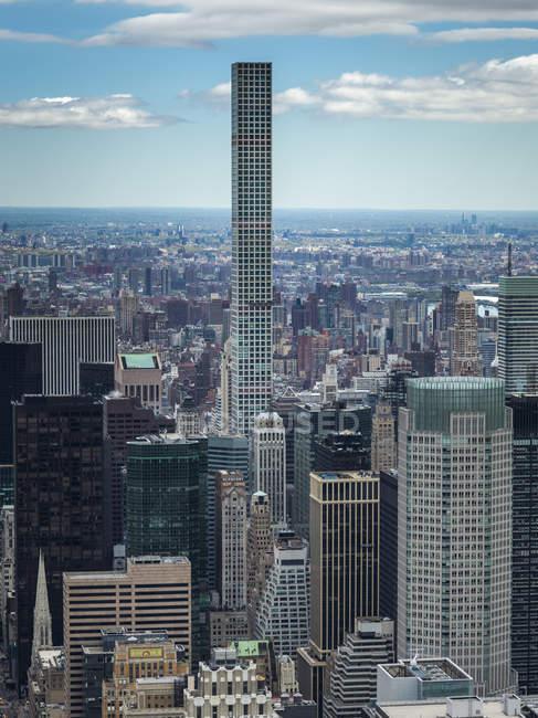 Stadtbild von New York City — Stockfoto
