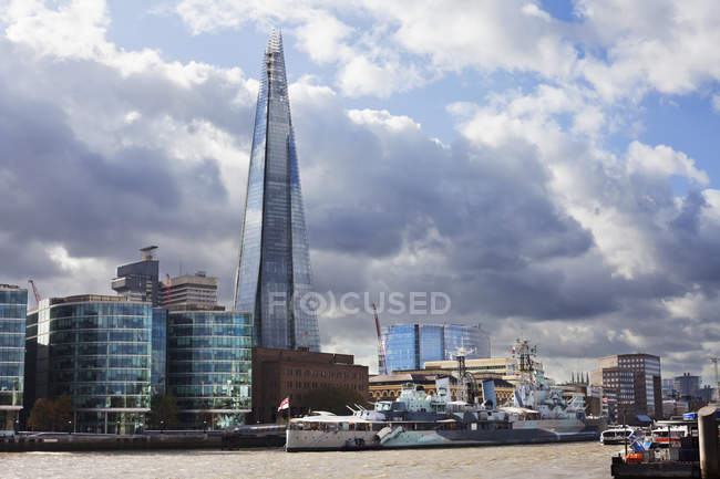 Coccio di là di Thames — Foto stock