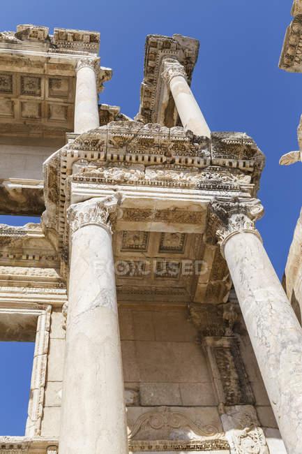 Bibliothèque de Celsus à Selcuk — Photo de stock
