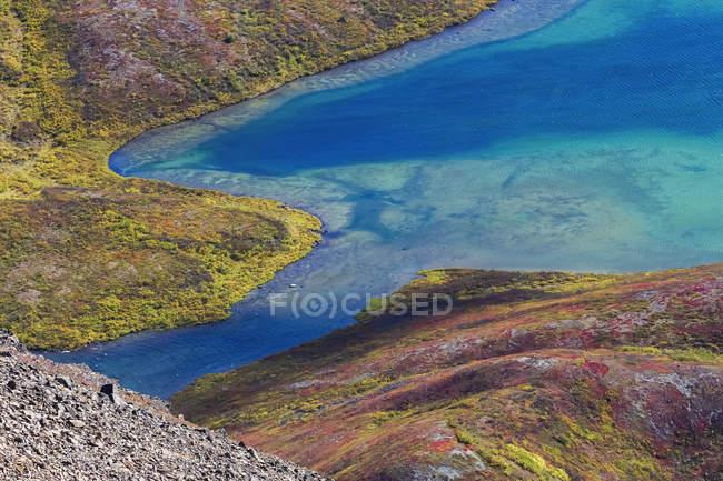 Ruhige Lage am Lückensee — Stockfoto