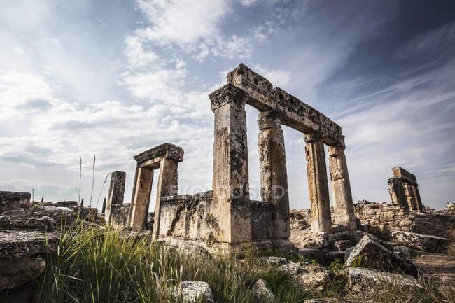 Ruines gréco-romaines — Photo de stock