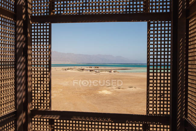 Visitor centre, Nabq National Park — Stock Photo