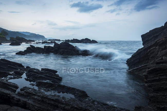 Waiao beach in Yilan County — Stock Photo