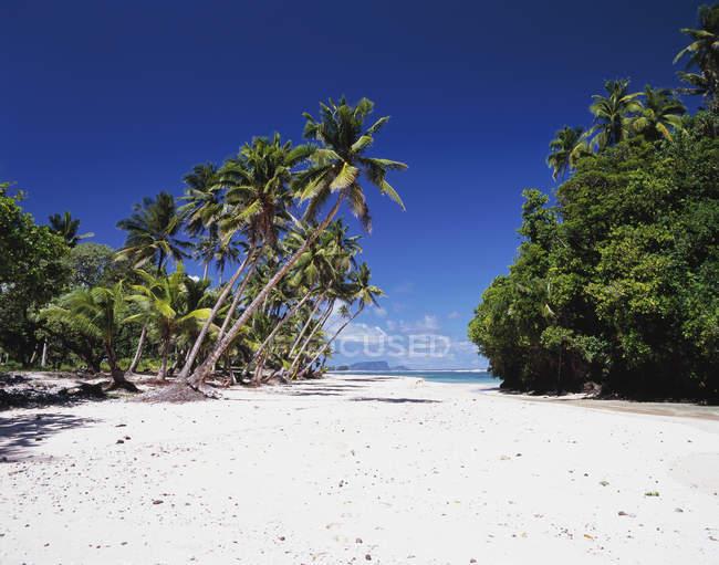Ruhige Szene am Strand von Vavau — Stockfoto