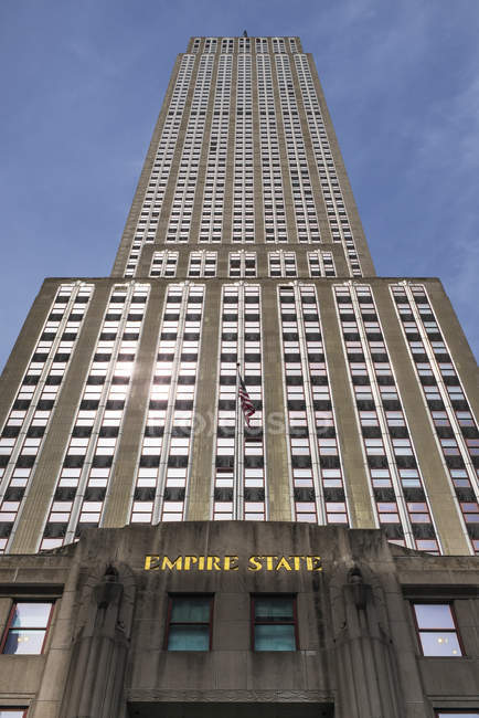 Edificio Empire state - foto de stock
