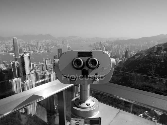 Hong Kong cityscape — Stock Photo